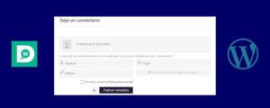 Comentarios personalizados en WordPress
