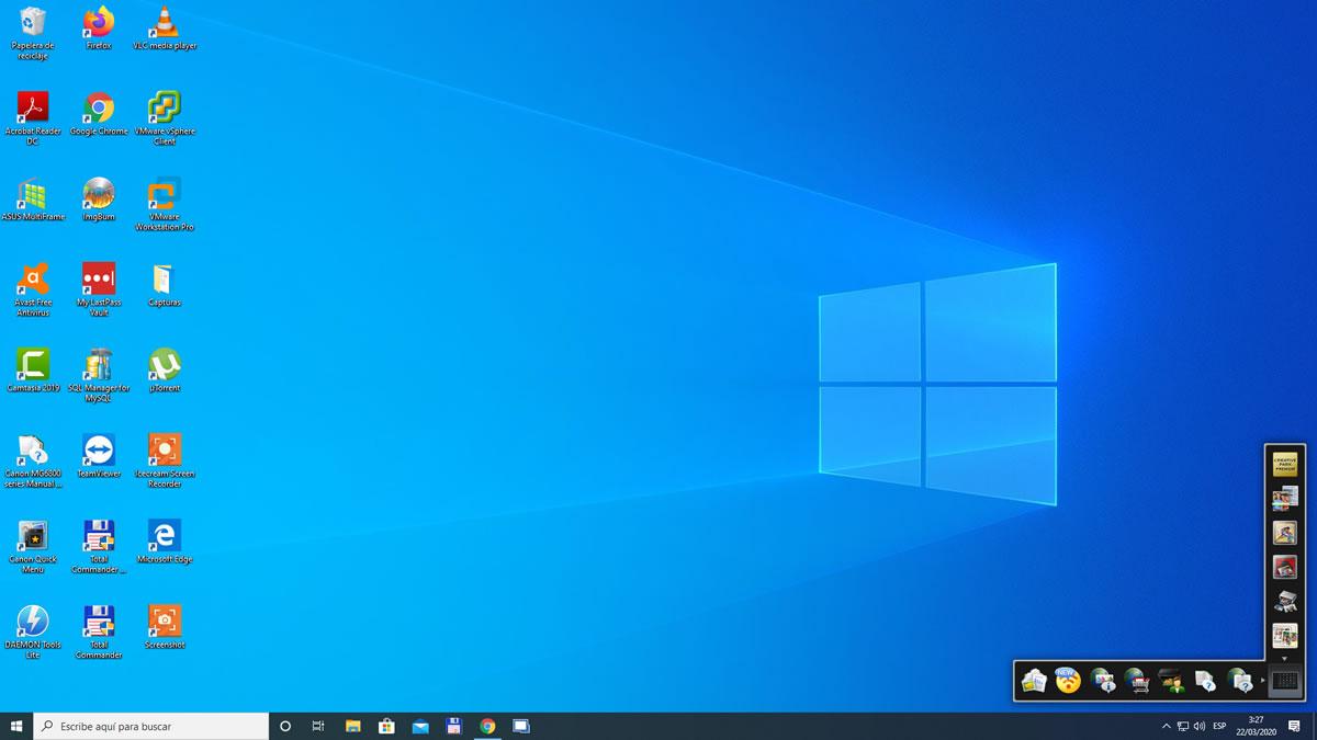 Personalizar Escritorio de Windows 10