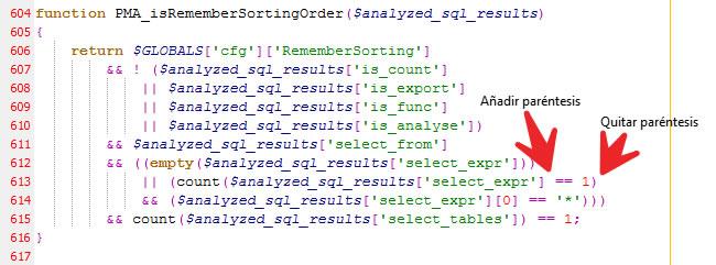 Función corregida en sql.lib